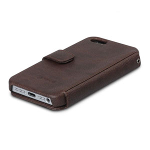 Zenus Masstige Color Point Case for iPhone 5 - Black Chocolate