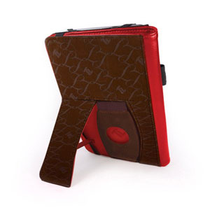 Tuff-Luv Embrace Plus Case for Kindle Fire HD- Red