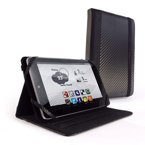 Tuff-Luv Slim-Stand Case for Kindle Fire HD- Carbon
