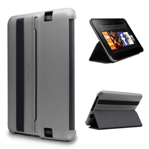 "Marware MicroShell Folio for Kindle Fire HD 7"" - Silver"
