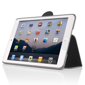 Incipio Co-Mold Lexington Charcoal iPad Mini - Red/Light Grey