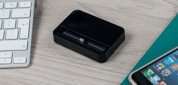Dock iPhone 5S / 5C / 5 - Dock Lightning de chargement & sync. - Noir