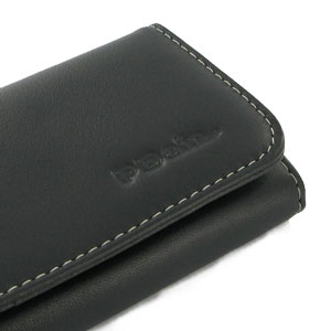 PDair Leather Case for Samsung Galaxy Note II  - Black