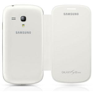 Самым распространенным чехлом является оригинальный чехол-обложка для Samsung Galaxy S3 mini i8190 EFC-1M7F...