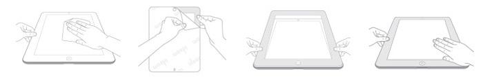Moshi iVisor Anti Glare Screen Protector for iPad Mini - Black