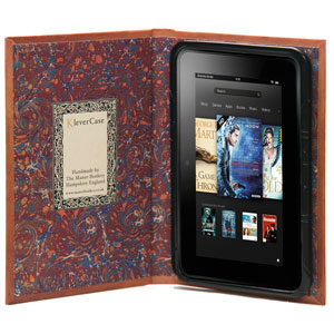 KleverCase False Book Kindle Fire HD - Tan