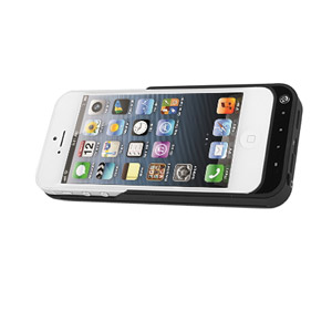 Power Jacket Case 2200mAh for iPhone 5 - Black