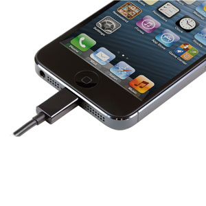 iPhone 5 Lightning Connector Mains Charger - Black