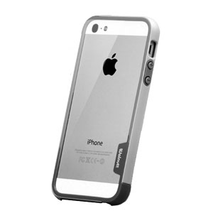 Walnutt Bumper Trio Series Case for iPhone 5 - Grey