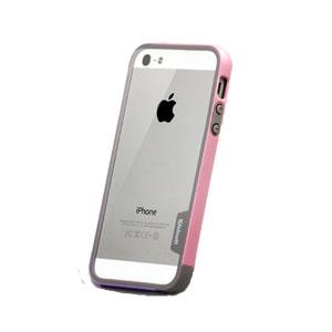 Walnutt Bumper Trio Series Case for iPhone 5 - Grey