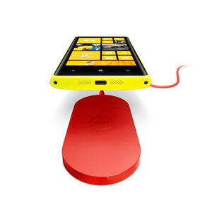 Nokia Lumia 820 / 920 Wireless Charging Plate DT-900BK - Red