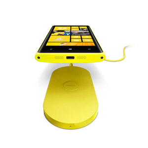 Nokia Lumia 820 / 920 Wireless Charging Plate DT-900BK - Yellow