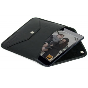 Cool Bananas Leather  iPad Mini Envelope V1 Case - Black