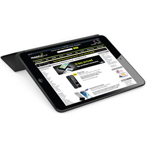 Krusell BackCover Smart Cover Compatible Case for iPad 2 - Black
