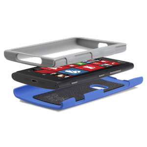 Case-Mate Tough Case for Nokia Lumia 920 - Blue / Grey