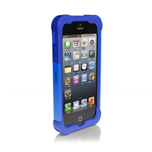 Ballistic Shell Gel Case for iPhone 5 - Blue