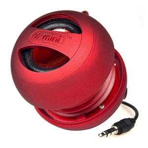 XMI X-Mini II Mini Speaker - Red