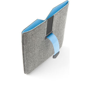 Dicota PadCover for iPad 2 and Retina Display - Black/Blue