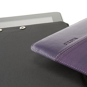 Dicota PadCover for iPad 2 and Retina Display - Purple