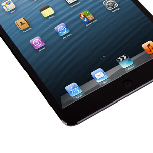 Moshi iVisor XT Screen Protector for iPad Mini - Black