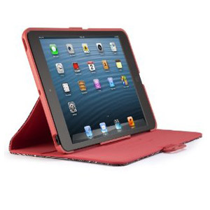 Speck FitFolio Case for iPad Mini - FreshBloom Coral