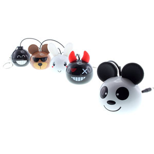 Kitsound Mini Buddy Panda Speaker