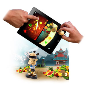 Mattel Fruit Ninja Apptivity Toy for iPad 2 / 3 / 4