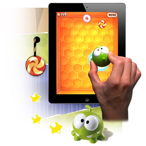 Mattel Cut the Rope Apptivity Toy for iPad 2 / 3 / 4