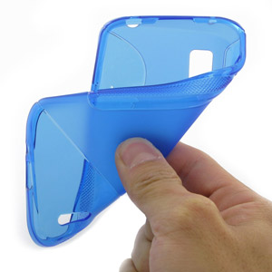 PDair TPU Protective Case for Google Nexus 4 - Blue
