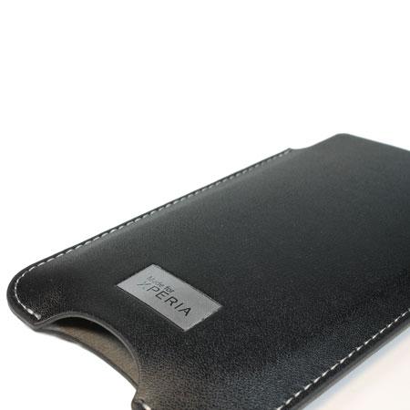 Sony Xperia T SMA3122B Pouch Case - Black