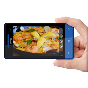 Sim Free HTC 8S - Atlantic Blue