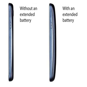 Genuine Samsung Extended Battery Kit for Galaxy S3 - 3000mAh - Blue