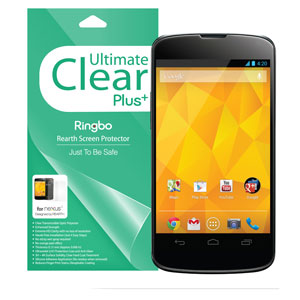 Ringbo Ultimate Clear Plus Screen/Back Protector for Nexus 4