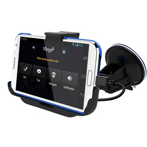 Support voiture avec chargeur pour Samsung Galaxy Note 2