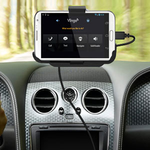 Support voiture avec chargeur pour Samsung Galaxy Note 2 3