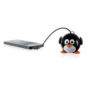 Kitsound Mini Buddy Penguin Speaker