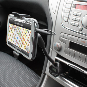 RoadTune Universal Charging Car Holder with FM Transmitter