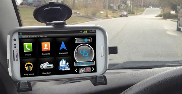 iBOLT xProDock Active Music Vehicle Dock for Samsung Smartphones
