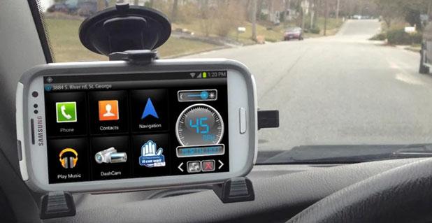 iBOLT xProDock Active Music Vehicle Dock for Samsung Smartphones