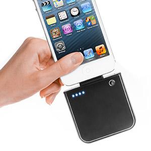 Batterie Externe Mobile iPhone 5 et appareils Lightning - 1800mAh