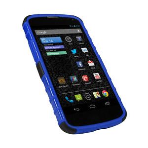 ArmourDillo Hybrid Protective Case for Google Nexus 4 - Blue