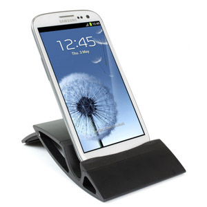 Universal Flip-Stand Desk Holder - Black