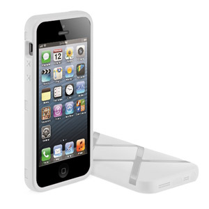 SwitchEasy Bonds Hybrid Case for iPhone 5 - White