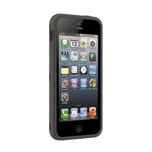 SwitchEasy Bonds Hybrid Case for iPhone 5 - Black