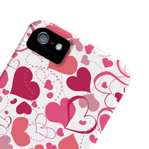 Case-Mate Barely There Valentines for iPhone 4 / 4S - White Heart