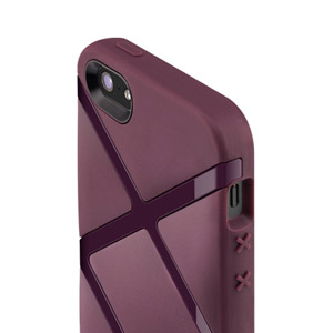 SwitchEasy Bonds Hybrid Case for iPhone 5 - Purple