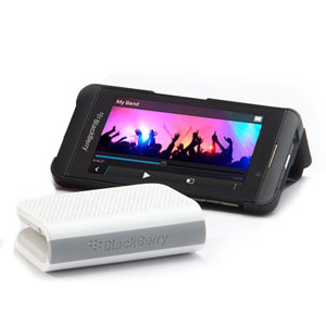 BlackBerry Mini Bluetooth Stereo Speaker - White