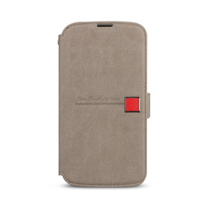 Zenus Masstige Color Edge Diary Case for Google Nexus 4 - Beige