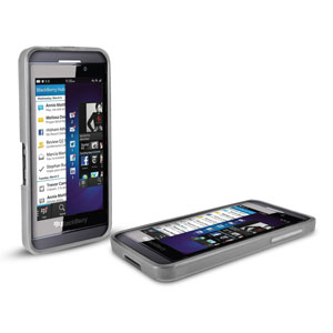 FlexiShield Case for Blackberry Z10 - White