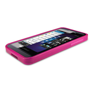 FlexiShield Case for Blackberry Z10 - Purple
